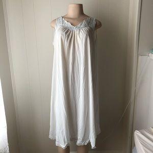Vintage Pale Blue Nightgown